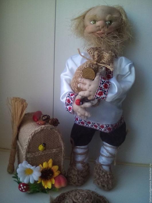 Кукла - оберег зовут Ерофей Кузьмич .Чудесный подарок для Ваших родных , друзей и любимых