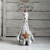 Куклы и игрушки ручной работы. Ярмарка Мастеров - ручная работа Мишка Gray Коллекция Believe. Handmade.