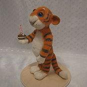 Куклы и игрушки ручной работы. Ярмарка Мастеров - ручная работа игрушка Тигрушка. Handmade.