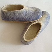 Обувь ручной работы. Ярмарка Мастеров - ручная работа Тапочки валянные. Handmade.