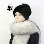 Аксессуары handmade. Livemaster - original item Luxurious scarf boa fur Finnish volevogo Fox. Handmade.