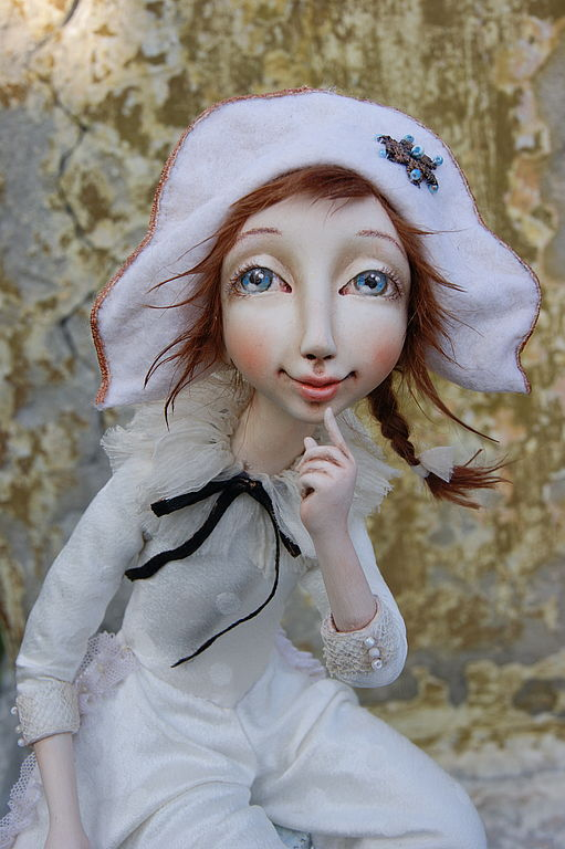 """Авторская кукла """" Коломбина"""", Коллекционные куклы, Москва, Фото №1"""