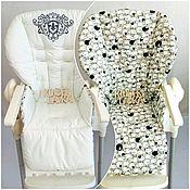 Чехол на стульчик ручной работы. Ярмарка Мастеров - ручная работа Чехол на стульчик для кормления. Handmade.