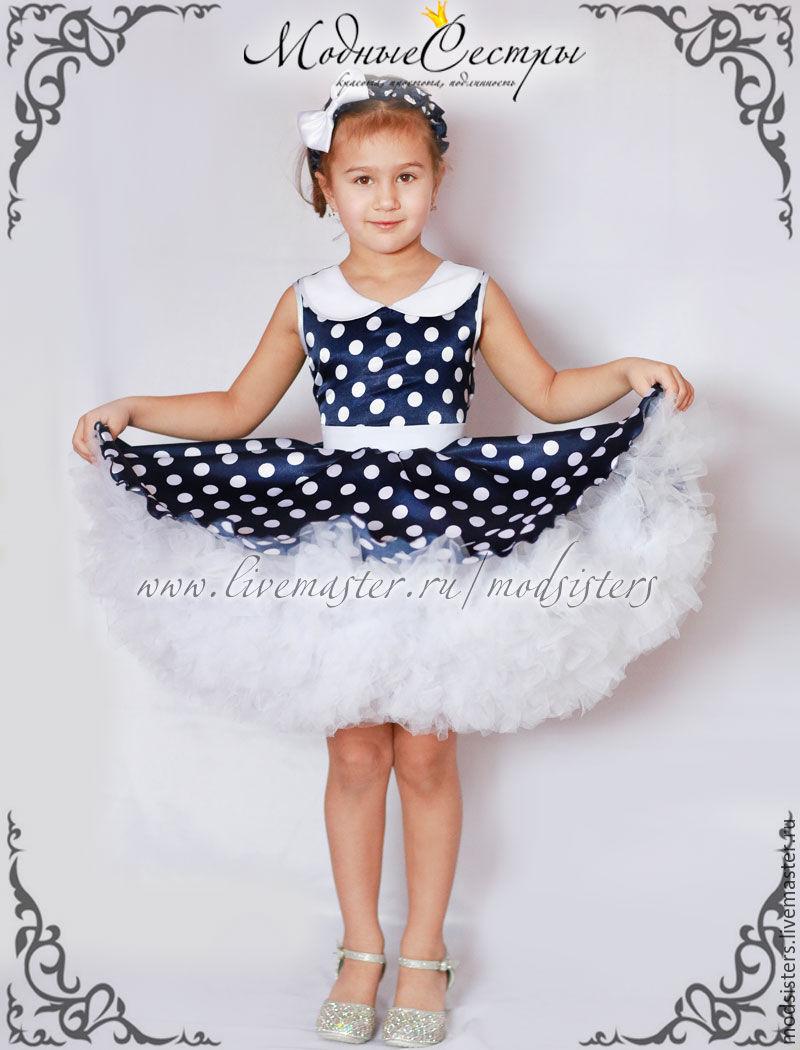 Платье стиляги для девочек своими руками 735
