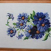 """Картины и панно ручной работы. Ярмарка Мастеров - ручная работа Вышитая картина"""" Цветы"""". Handmade."""