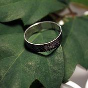 Украшения handmade. Livemaster - original item Texture ring