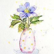 Картины и панно handmade. Livemaster - original item The watercolor paintings of