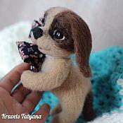 Куклы и игрушки handmade. Livemaster - original item Copyright felted toy made of wool timoshka TM. Handmade.