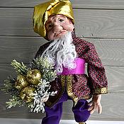 Куклы и игрушки ручной работы. Ярмарка Мастеров - ручная работа Кукла Старик Хоттабыч. Handmade.