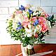 Венок + букет невесты Весенняя Свежесть