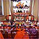 Праздничная атрибутика ручной работы. Ярмарка Мастеров - ручная работа. Купить Хэллоуин под ключ - 2 часть: кенди-бар (сладкий стол). Handmade.