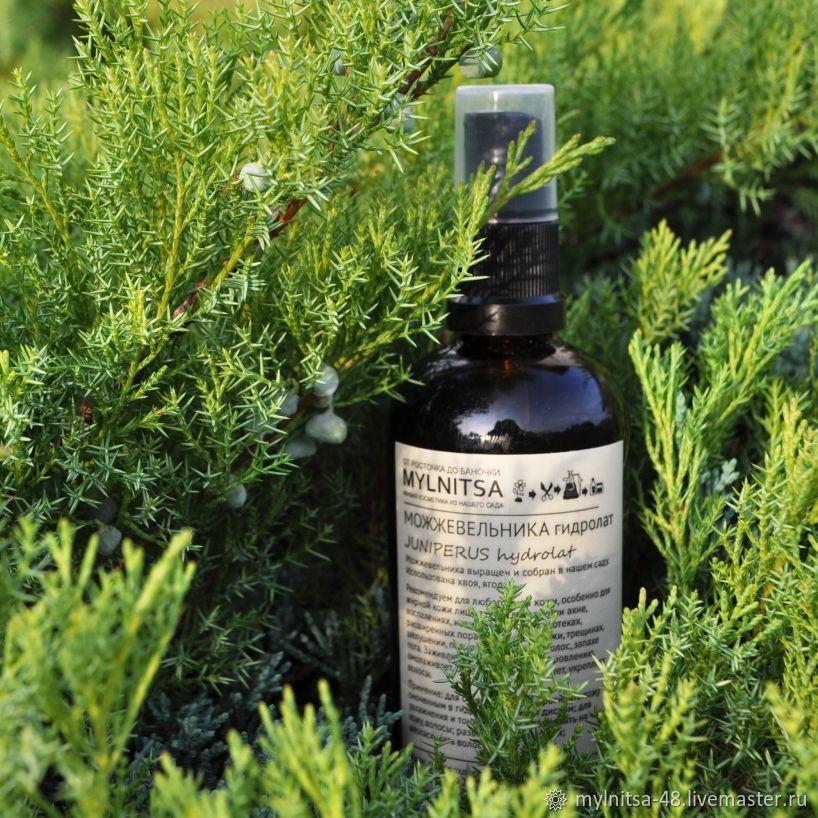 Juniper hydrolat 2020. For oily skin. For oily hair, Tonics, Lipetsk,  Фото №1