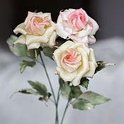Цветы и флористика ручной работы. Ярмарка Мастеров - ручная работа Букет роз Amore Mio. Handmade.