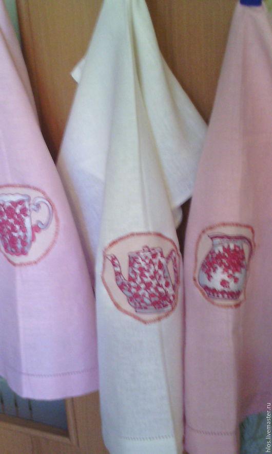 Кухня ручной работы. полотенца кухонные в наборе подарок на 8 марта. Лён -ленок ( и не только). Ярмарка Мастеров. В подарок