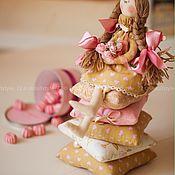 Куклы и игрушки ручной работы. Ярмарка Мастеров - ручная работа Интерьерная кукла принцесса на горошине.. Handmade.