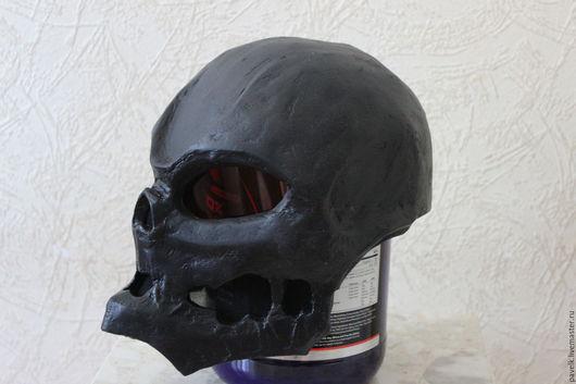 Подарки для мужчин, ручной работы. Ярмарка Мастеров - ручная работа. Купить Шлем-Череп. Handmade. Черный, маска, бумажная модель