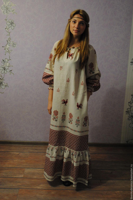 Как сшить традиционную русскую