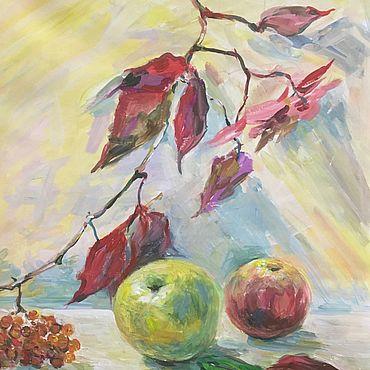 Картины и панно ручной работы. Ярмарка Мастеров - ручная работа Картина натюрморт Осень. Handmade.