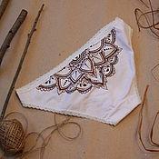 Одежда ручной работы. Ярмарка Мастеров - ручная работа Трусики с мандалой. Handmade.