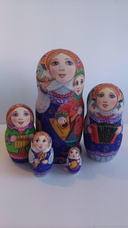 Деревенские музыканты, Матрешки, Витебск,  Фото №1
