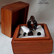 Украшения handmade. Livemaster - original item Set of jewelry made of ebony Shape. Handmade.
