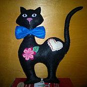 Куклы и игрушки ручной работы. Ярмарка Мастеров - ручная работа Кошка-Маргошка. Handmade.