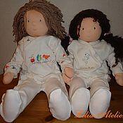 Куклы и игрушки ручной работы. Ярмарка Мастеров - ручная работа Братик и сестрёнка. Handmade.