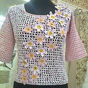 Одежда handmade. Livemaster - original item Summer shirt