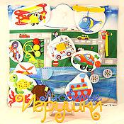 """Куклы и игрушки ручной работы. Ярмарка Мастеров - ручная работа Развивающий коврик """"Транспорт"""". Handmade."""