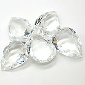 Стразы капля 25х18 мм прозрачный кристалл
