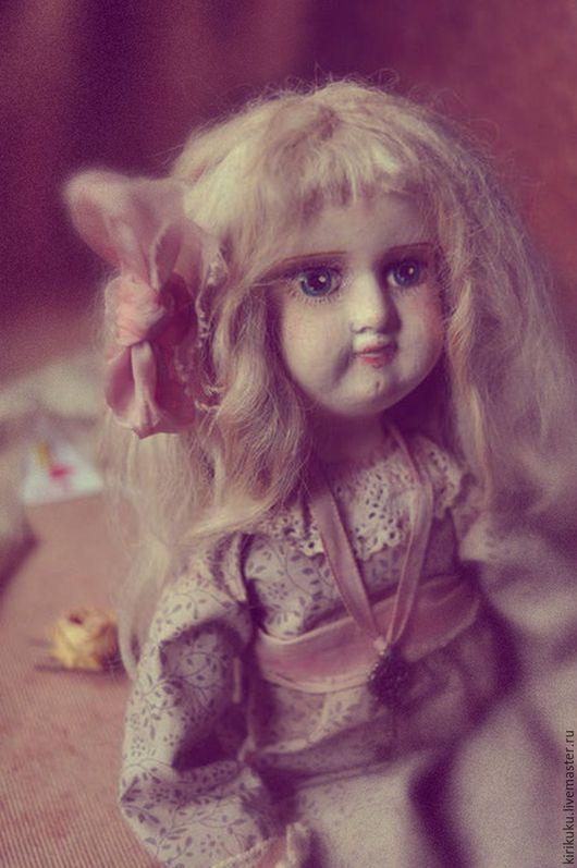 Коллекционные куклы ручной работы. Ярмарка Мастеров - ручная работа. Купить Игры со Временем: Алиса.... Handmade. Ретро