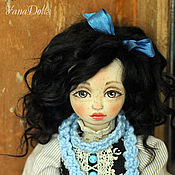 Куклы и игрушки ручной работы. Ярмарка Мастеров - ручная работа Клэр, кукла из дерева. Handmade.