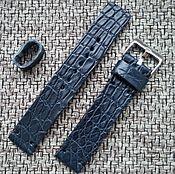 Украшения handmade. Livemaster - original item The strap is made of crocodile skin. Handmade.