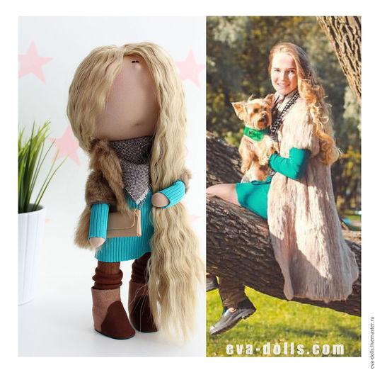 Портретная куколка на заказ по фото и описанию