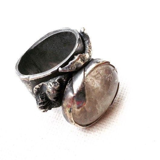 Кольца ручной работы. Ярмарка Мастеров - ручная работа. Купить Кольцо YSL. Handmade. Авторская ручная работа, кольцо с камнем