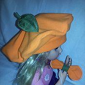 Одежда ручной работы. Ярмарка Мастеров - ручная работа Берет Апельсин. Handmade.