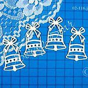 Материалы для творчества handmade. Livemaster - original item chipboard bell 02-116. Handmade.