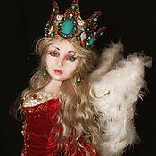 Куклы и игрушки ручной работы. Ярмарка Мастеров - ручная работа Царевна Лебедь. Handmade.