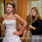 Свадебный салон ручной работы. Ярмарка Мастеров - ручная работа Свадебное платье (венчальный комплект). Handmade.