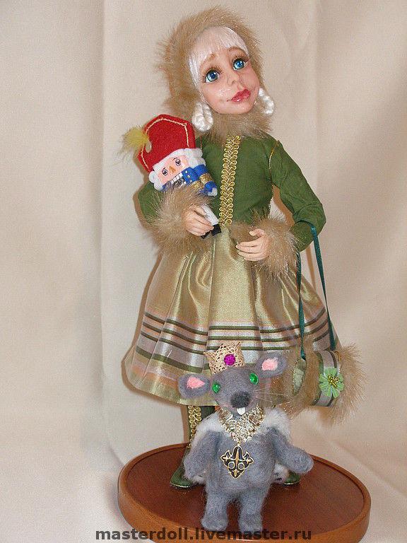 Куклы ручная работа полимерная глина