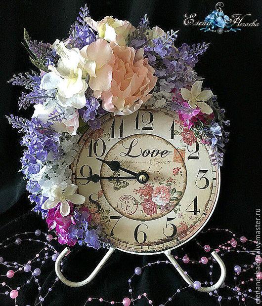 """Часы для дома ручной работы. Ярмарка Мастеров - ручная работа. Купить Интерьерные часы """"Помпадур"""" Декоративные часы. Handmade. Комбинированный"""
