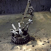 Статуэтки ручной работы. Ярмарка Мастеров - ручная работа Автомеханик (сувенир). Handmade.