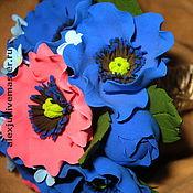 Свадебный салон ручной работы. Ярмарка Мастеров - ручная работа Букет из анемонов. Handmade.