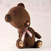 Куклы и игрушки ручной работы. Ярмарка Мастеров - ручная работа мишка Шоколадка. Handmade.