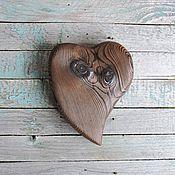 Подарки к праздникам ручной работы. Ярмарка Мастеров - ручная работа Живое - сердце из дерева. Handmade.