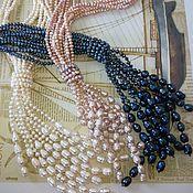 Украшения handmade. Livemaster - original item Necklace - tie