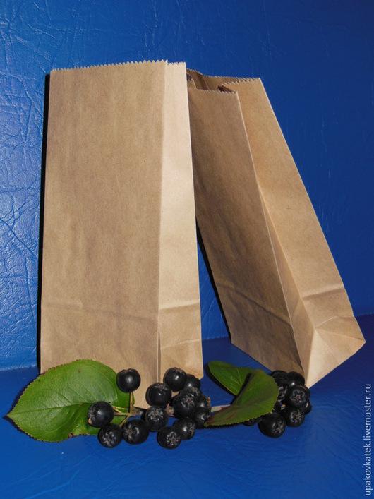 Упаковка ручной работы. Ярмарка Мастеров - ручная работа. Купить Крафт пакет 17х8х5см. Handmade. Коричневый, кофе