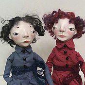 Куклы и игрушки ручной работы. Ярмарка Мастеров - ручная работа Ада и Мона.. Handmade.