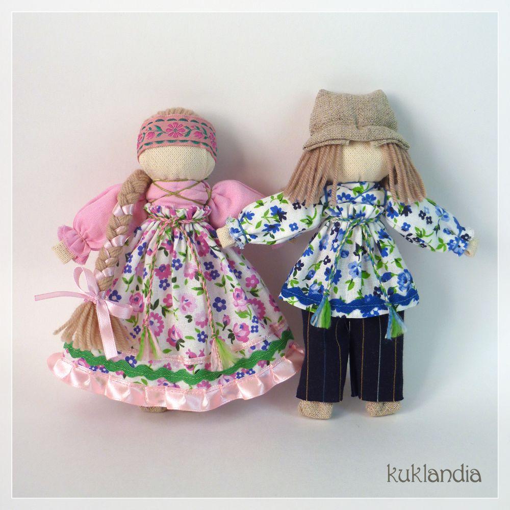 Игровая народная кукла мастер класс