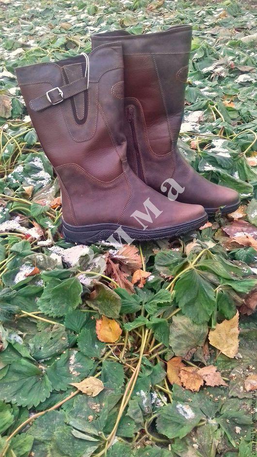 Обувь ручной работы. Ярмарка Мастеров - ручная работа. Купить Монголки женские С-247. Handmade. Коричневый, обувь